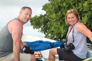 Guest Participants Sian Kaan Motorboat Private Tour Photo Safari