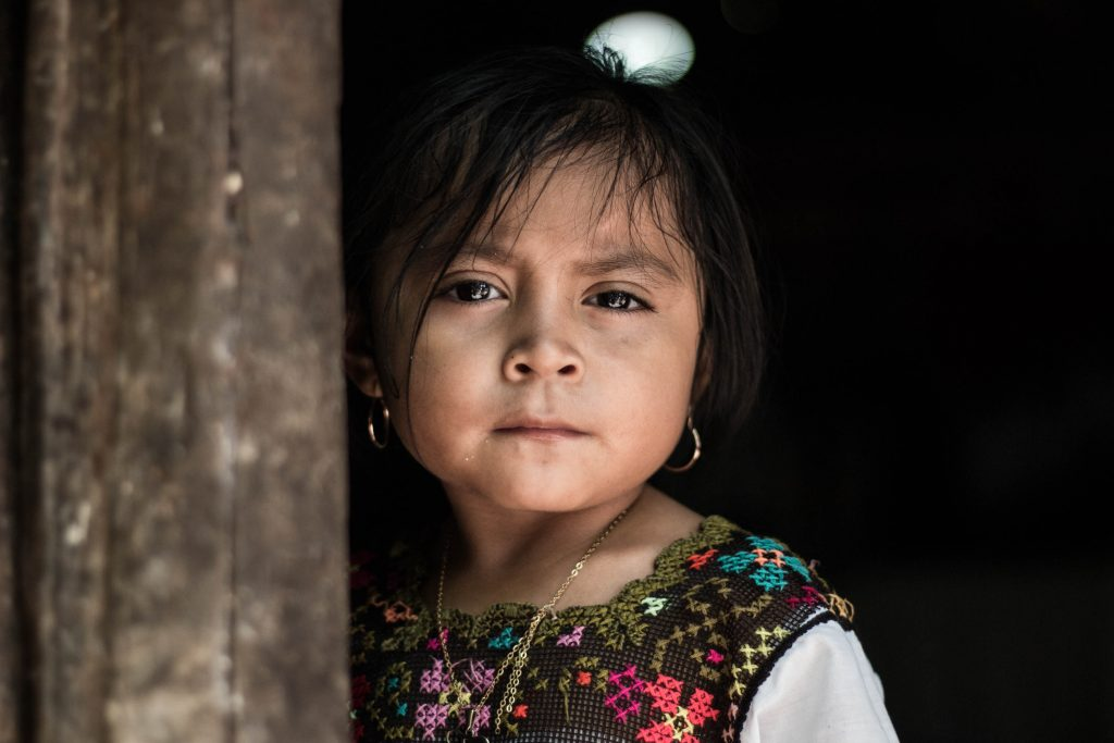 Mayan Girl - Mayan Village Private Tour Photo Safari