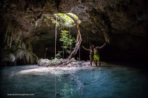 Cenote Photo Shoot