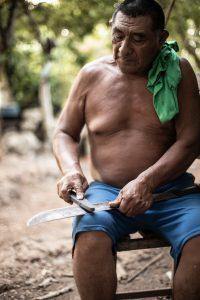 mayan village men