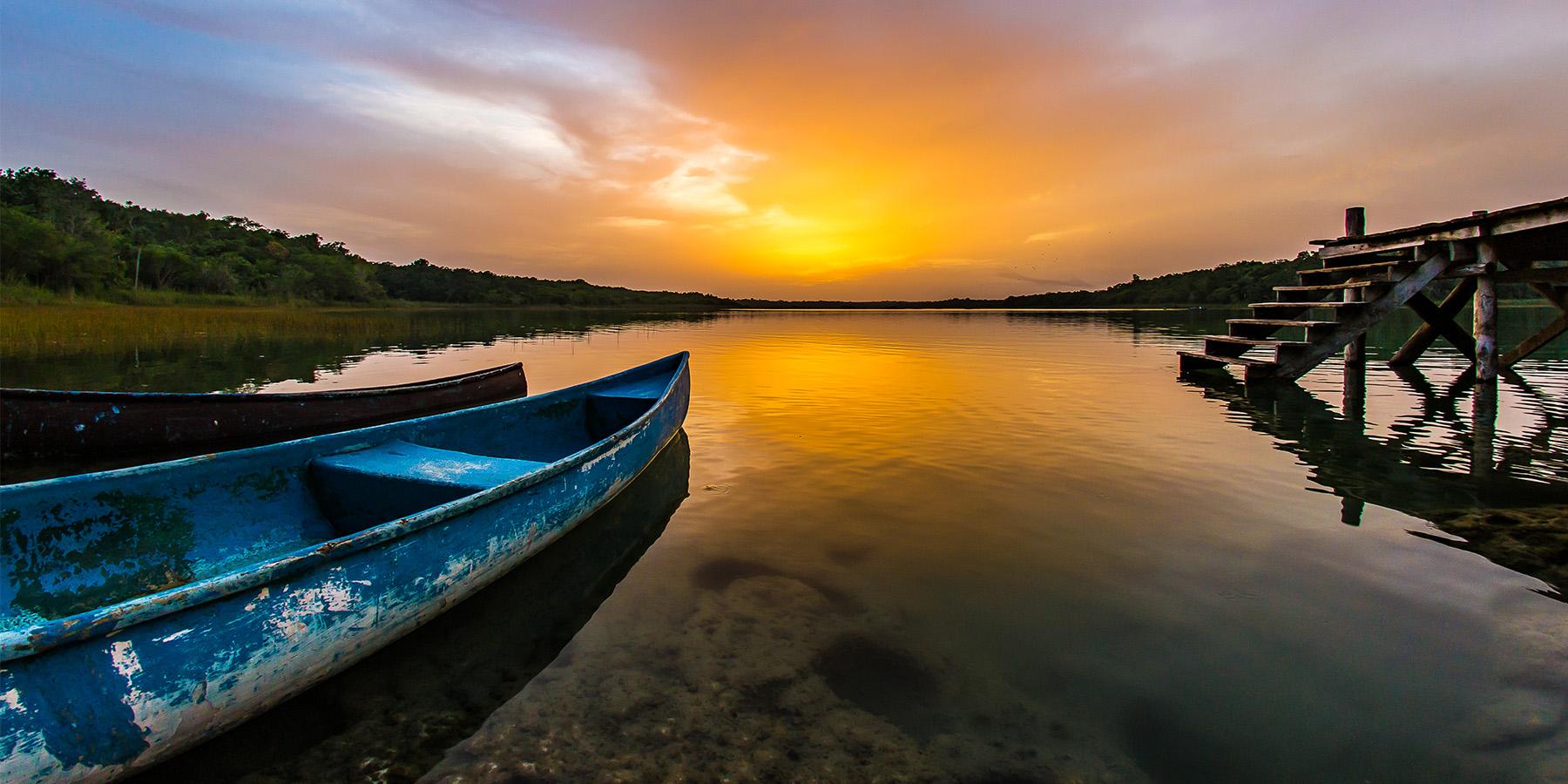 Bushman Photo - Private Tours - Playa del Carmen - Virgin lagoon Tulum